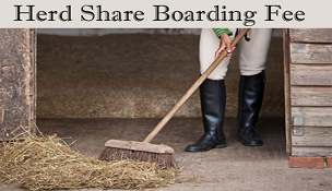 Join Now- HALF SHARE MONTHLY BOARDING FEE