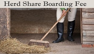 HALF SHARE MONTHLY BOARDING
